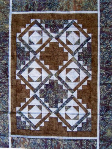 Communautaire 2008 : Colorado Quilt - Log Cabin